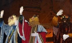 Melchor, Gaspar y Baltasar estarán recogiendo las cartas de los niños y niñas en la Calle Empedrada