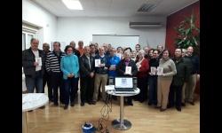 Taller sobre el uso de nuevas tecnologías realizado en el Centro de Mayores de Manzanares