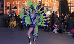 Desfile de carrozas y comparsas en Manzanares