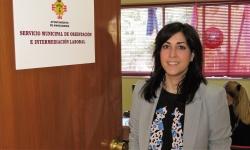 Gemma de la Fuente, concejala de Empleo, en el SOIL