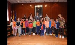 Visita de alumnado de los centros escolares al Ayuntamiento de Manzanares