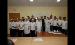 """Clausura acción formativa """"Auxiliar de Cocina"""""""