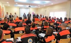 Momento de la inauguración del curso a cargo de Julián Nieva