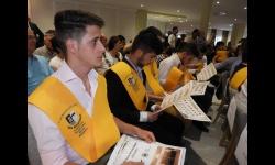 Graduación de alumnos EFA Moratalaz Manzanares