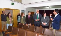 """Visita que realizaron las autoridades al IES """"Sotomayor"""""""
