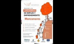Cartel de Lanzanderas de Empleo y Emprendimiento