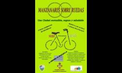 """Cartel de la campaña """"Manzanares, sobre Ruedas"""""""