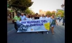Marcha por el alzheimer con motivo de las I Jornadas Ciudad de Manzanares de Alzheimer