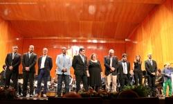 """Junta directiva y director de la AMC """"Julián Sánchez-Maroto"""" de Manzanares"""
