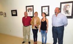 Inauguración de la exposición de Alicia Pedregal a cargo de Silvia Cebrián