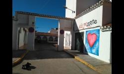 Aspecto del mural 'Estados del corazón'