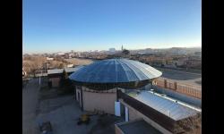 Imagen de la nueva cúpula del pabellón ferial