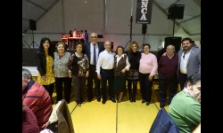 Representantes del Ayuntamiento acompañaron a los mayores durante su fiesta de Carnaval