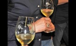 Detalle de una cata de vino
