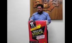 Pablo Camacho en la presentación de la Feria del Stock