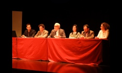 Directores de los centros junto a los representantes del Equipo de Gobierno