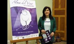 La concejala de Turismo presenta las jornadas Alma del Vino de Manzanares