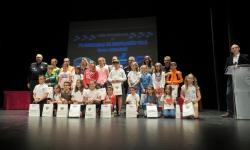 Alumnado premiado en las VI Jornadas de Educación Vial