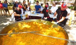 Paella popular de las últimas fiestas patronales
