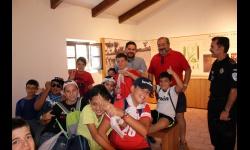 Actividad con los menores de la Universidad Popular