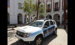 Coche patrulla de la Policía Local de Manzanares