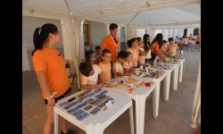 Mercadillo solidario del Campamento Urbano de la concejalía de Juventud