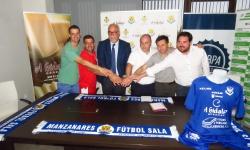 Todos a una con el Manzanares FS Quesos El Hidalgo para la próxima temporada