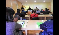 Entrega de diplomas del curso de manipulador de productos fitosanitarios
