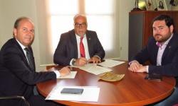 Firma del contrato de patrocinio de Fercam con Bankia