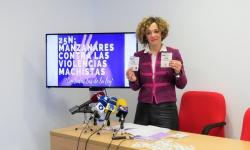Beatriz Labián presenta las actividades contra la violencia machista
