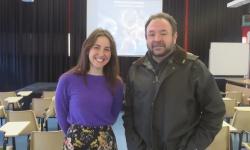 Charla  física-médica de Anna Baratto sobre protonterapia