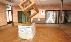 Patio de entrada del Centro de la Mujer de Manzanares