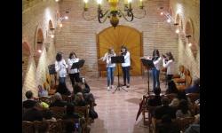 Audición de flauta en la Semana Cultural