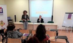 Beatriz Labián en la presentación de la jornada para profesionales de la abogacía