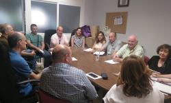 Reunión de la junta directiva de la asociación Alto Guadiana Mancha