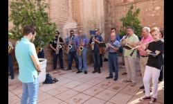 La banda de Manzanares ha despedido a quien fue su compañero durante 50 años
