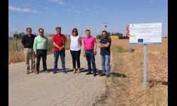 Mejora y acondicionamiento de caminos rurales en Manzanares