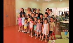 Visita de Beatriz Labián al servicio municipal de conciliación en vacaciones