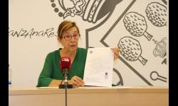 Isabel Quintanilla presenta la nueva ruta del bus escolar