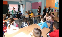 Primera sesión del programa en el colegio Divina Pastora