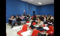 Participantes en una acción formativa anterior con comerciantes y emprendedores de Manzanares