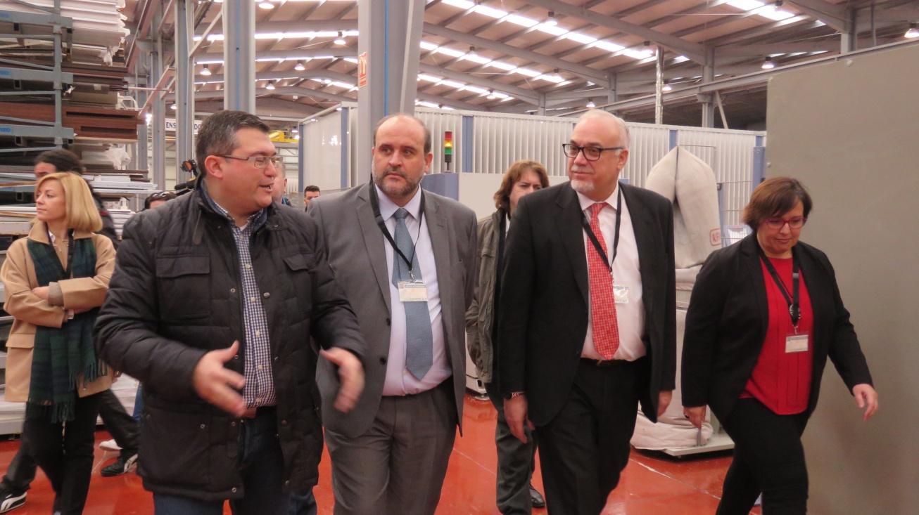 Visita a la fábrica Corext PVC Manzanares