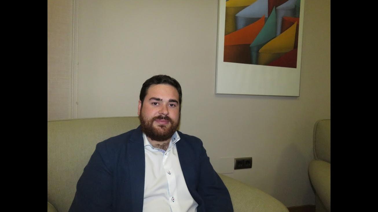 Pablo Camacho. Concejal de Cooperación al Desarrollo del Ayuntamiento de Manzanares