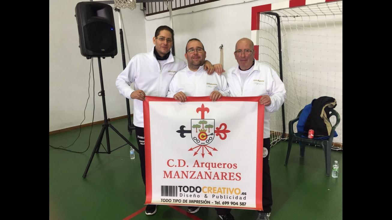 Competidores del club Arqueros de Manzanares en Tomelloso