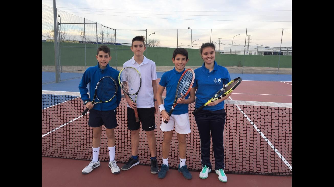 Borja Baquero, Julián Bermejo, Senén Blanco e Itziar Aparicio