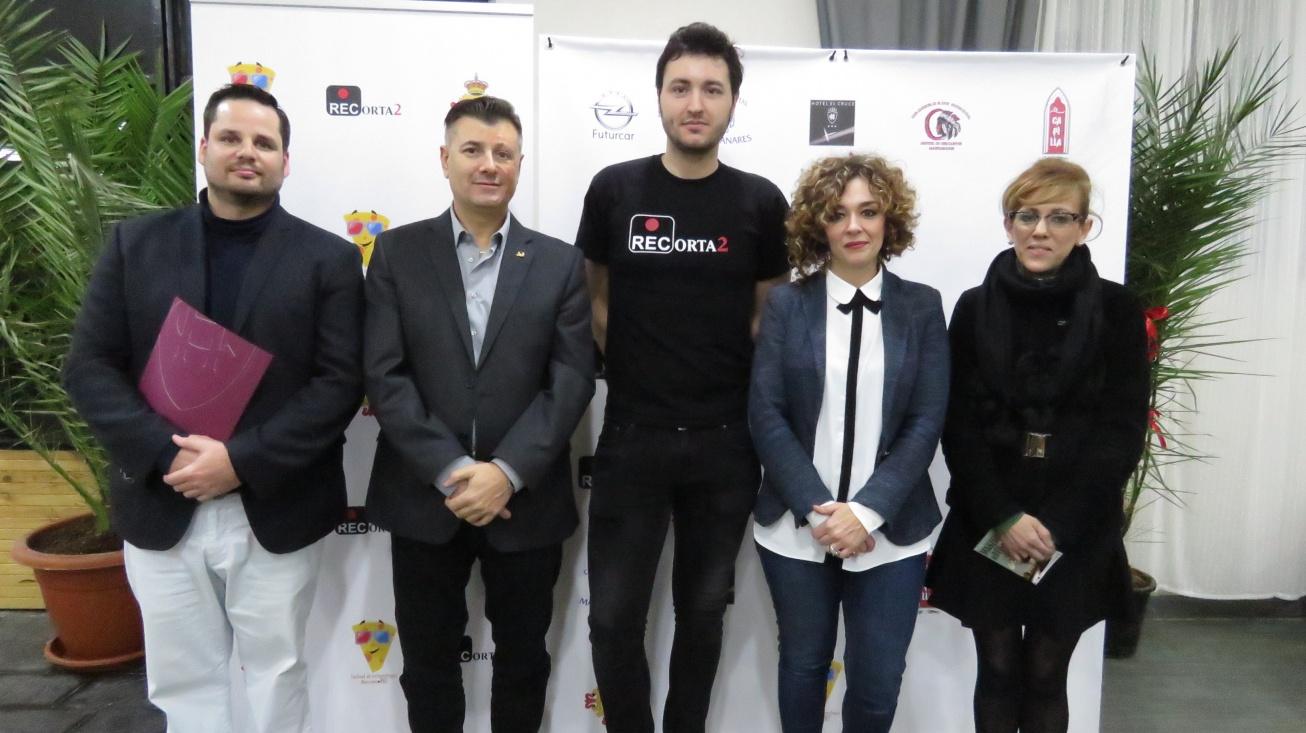 Presentación cine solidario enmarcado en el Festival de Cortometrajes ManzanaREC