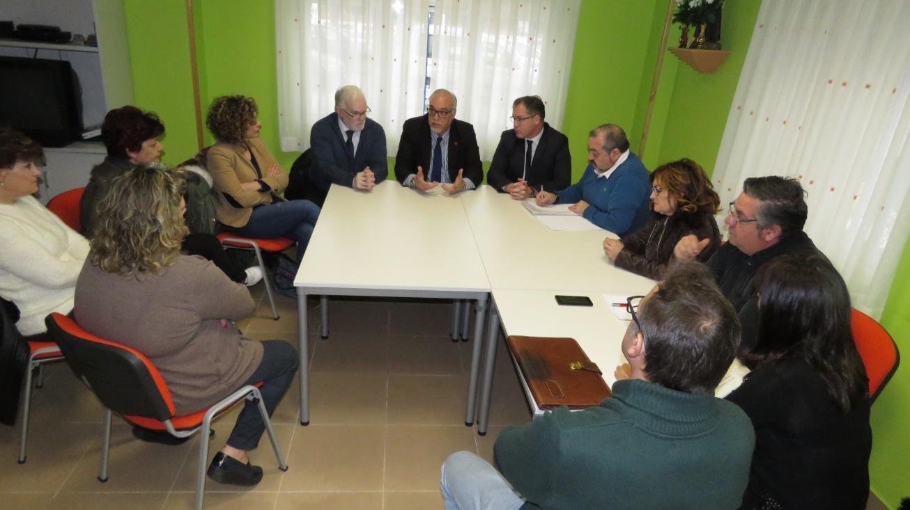 Reunión mantenida con la Asociación de Vecinos Avenida del Parque de Manzanares