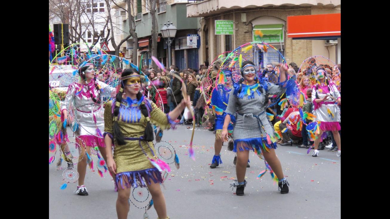 Los Echaos p'alante en el concurso de 2016