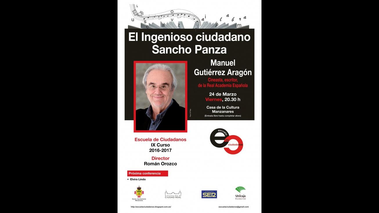 Cartel de la conferencia de la Escuela de Ciudadanos