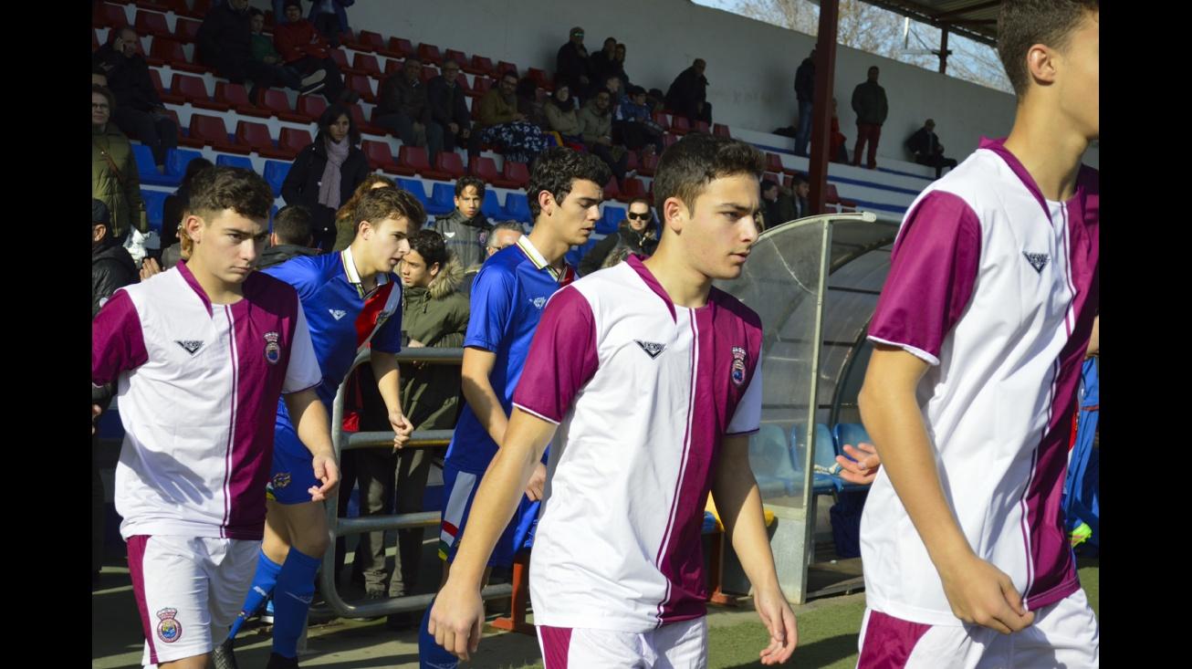 Sergio con la selección Sub 18 de Castilla-La Mancha
